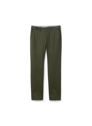 Lacoste Erkek Gabardin Pantolon HH9555.S7T Yeşil